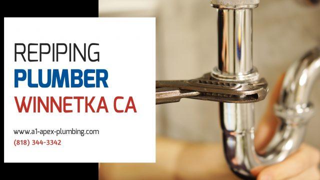 Repiping Winnetka plumber